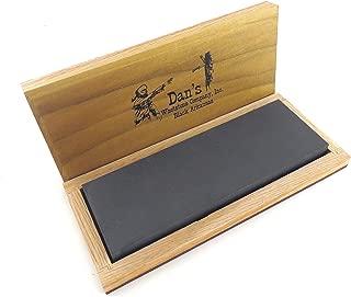 Genuine Arkansas Black Surgical (Ultra Fine) Knife Sharpening Bench Stone Whetstone 6