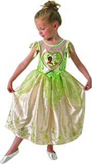Rubie's 610283L Official Loveheart Tiana Disney Fairytale Costume Outfit, Kids', Large (Age 7-8 Years)