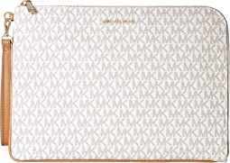 MICHAEL Michael Kors Mercer Large Tech Zip Clutch