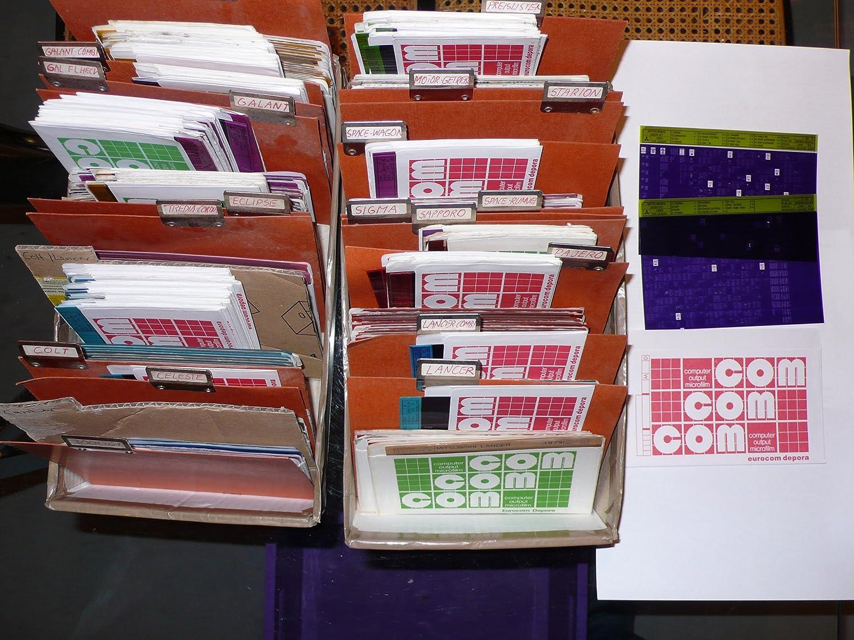 Mitsubishi Zubehör–Preise Austausch-Preise Kalkulation - microfiche - 24 Umschläge Umschläge Umschläge mit je mehreren Folien aus Werkstattauflösung B005TZNWII | Hochwertige Materialien  d0108a