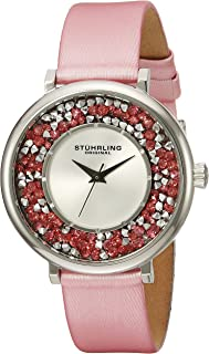 Stuhrling Original Women's 793.01 Vogue Analog Display Quartz Pink Watch