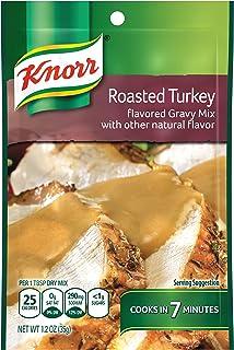 Knorr Gravy Mix Gravy Mix, Roasted Turkey 1.2 oz (Pack of 12)