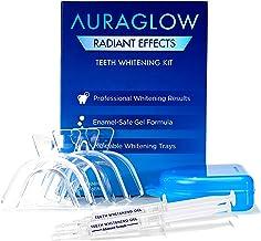 کیت سفید کننده دندانها AuraGlow Radiant Effects - 35٪ Carbamide Peroxide - 20 درمان