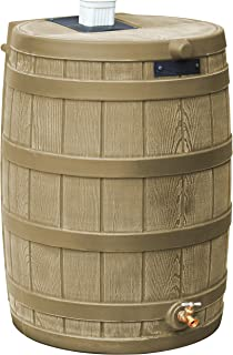 Good Ideas RW50-Kha Rain Wizard Rain Barrel 50 Gallon, Khaki