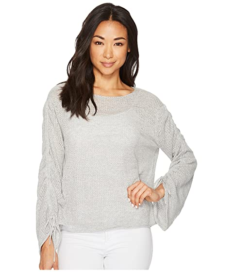 Drawstring Bell by Sweater Pointelle Camuto TWO Sleeve Vince zCpxqztw