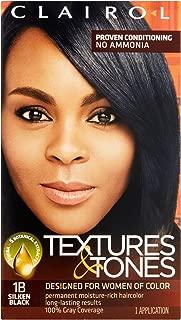 Clairol Textures & Tones 1b - Silken Black