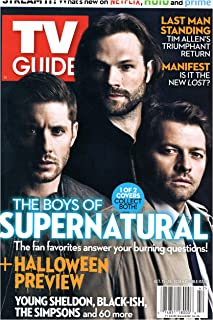 TV Guide Magazine October 15-28 2018 Jensen Ackles Jared Padalecki Misha Collins Supernatural DOUBLE ISSUE #2 of 2 Collector's Covers