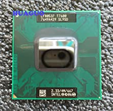 Intel Cpu Core 2 Duo T7600 2.33GHz 667FSB 4MB 2 Cores Fcpga6 Tray