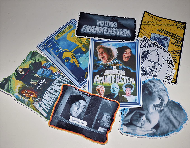 Young Frankenstein Vinyl Sticker Laptop Guitar Case Skateboard Notebook Car Truck Light Pole mfefkvgnvclk