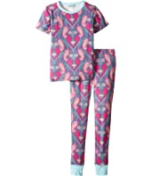 BedHead Kids - Short Sleeve Long Pants Set (Big Kids)