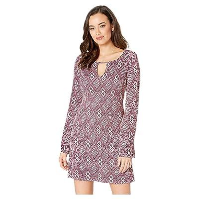 Stetson 2309 Wine Aztec Dress (Wine) Women