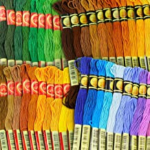 Embroidery Thread - Full 477 Skeins Rainbow Color Embroidery Floss Set - Excellent Cross Stitch Threads Friendship Bracelets Kit