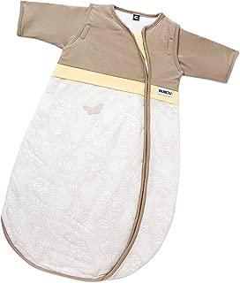Gesslein 771139 婴儿睡袋,尺码 70,颜色 139 - 棕色/黄色带蝴蝶设计