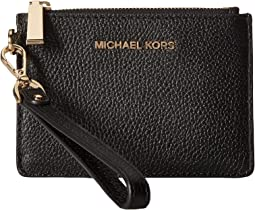53c5fb1f5cb6 Michael kors jet set card case w money clip black | Shipped Free at ...