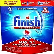 Finish – Max in 1 Dishwasher Detergent – Powerball – Dishwashing Tablets – Fresh