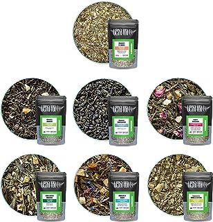 Tiesta Tea - Slenderizer Dry Flight Sampler, Medium Caffeine, Hot & Iced Tea, Loose Leaf Tea Sample with Green Tea Blends,...