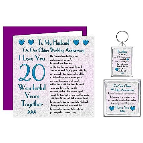 20th Wedding Anniversary Gift For Husband Amazon