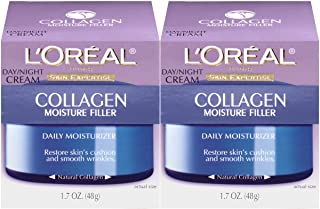 Collagen Face Moisturizer by L'Oreal Paris Skin Care I Day and Night Cream I Anti-Aging Face Cream to Smooth Wrinkles I No...