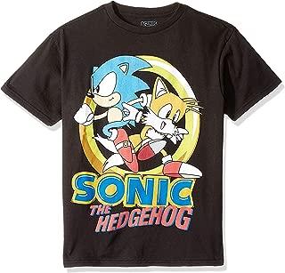 Boys' Sonic The Hedgehog & Tails Short Sleeve Tshirt