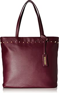Caprese Womens Zip Closure Tote Handbag