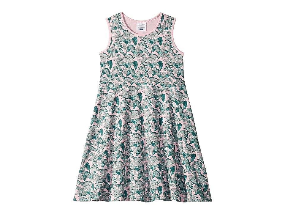 Toobydoo Skater Dress (Toddler/Little Kids/Big Kids) (Palm Print) Girl