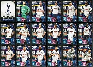MATCH ATTAX 19/20 Tottenham Hotspur/Spurs Full 18 Card Team Set - Champions League