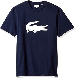 Lacoste Men's Short Sleeve Jersey Big Tonal Croc Printed T-Shirt, TH9428