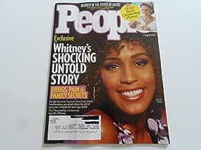 People Magazine (July 23, 2018) Whitney Houston Cover