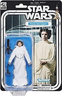 Star Wars The Black Series 40th Anniversary Princess Leia Organa 5.25 Inch Figure