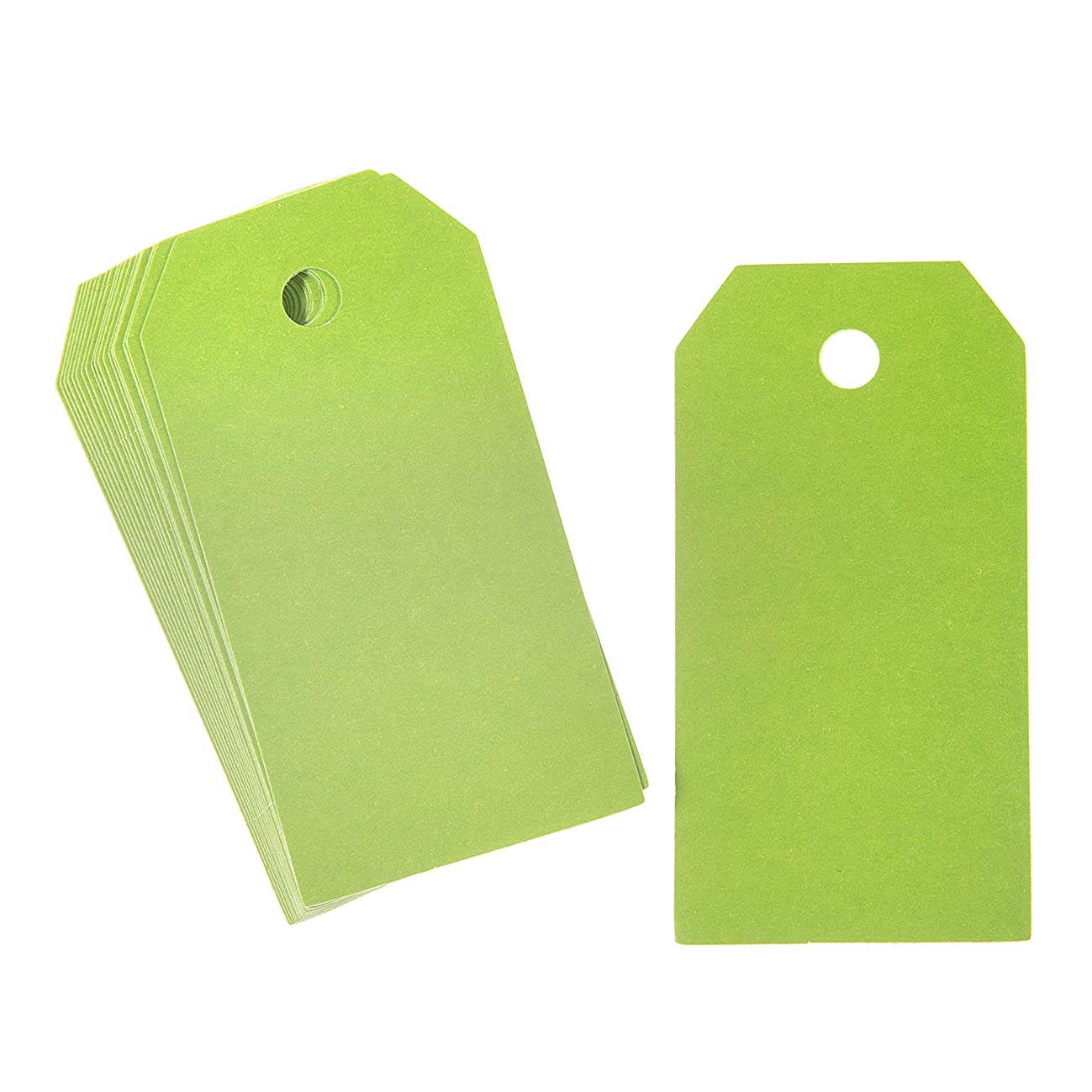 Darice Green Solid Paper Tags 100 Piece