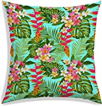 RADANYA Polyester Tropical Designer Decorative Throw Pillow/Cushion Covers - 20 x 20 inches-Insert not Included