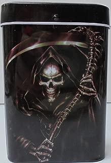 Bandaid Box VINTAGE Style TIN Metal Cigarette Case. Holds King size. Holds 10 cigarettes.