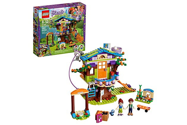 44f05611fbf5 LEGO Friends Mia's Tree House 41335 Creative Building Toy Set for Kids,  Best Learning and Roleplay Gift for Girls and Boys (351 Pieces)