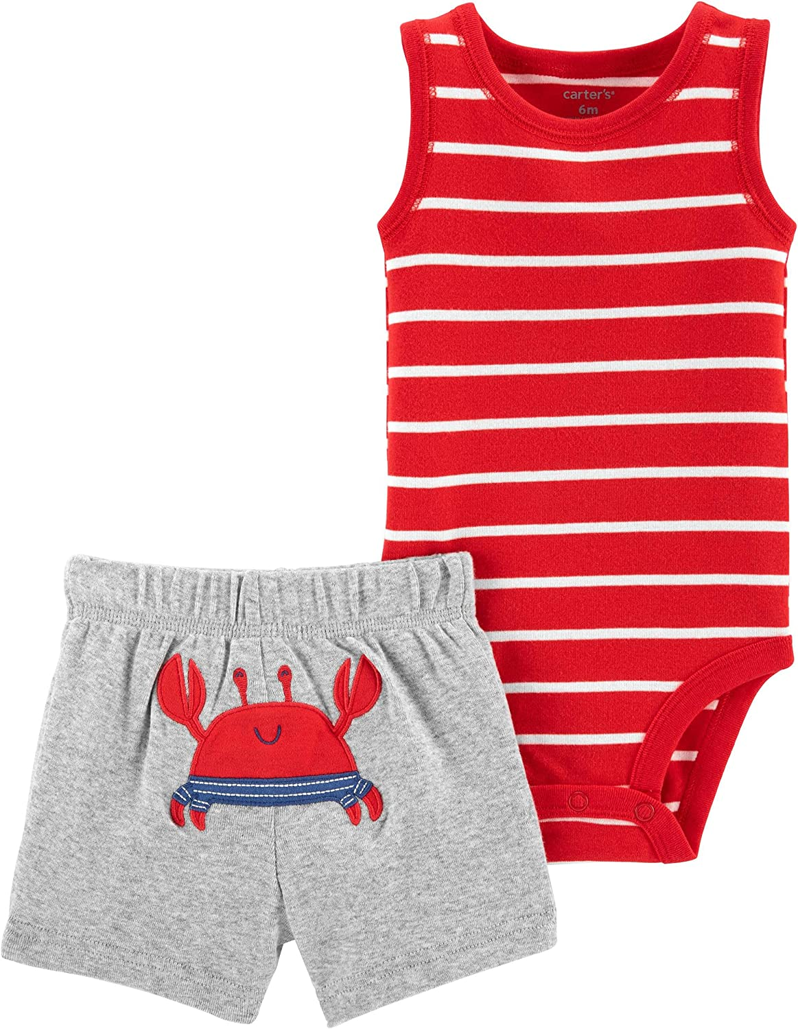 Carter's Baby Boy's Bodysuit and Shorts Set