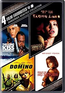 4 Film Favorites: Dangerous Beauties (The Long Kiss Goodnight / Point of No Return / Domino / Taking Lives)