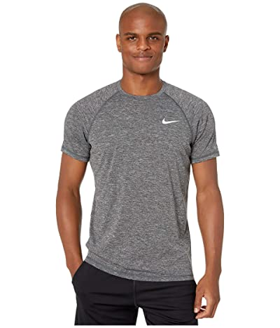 Nike Heather Short Sleeve Hydroguard (Black) Men