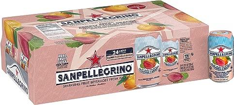 Sanpellegrino Prickly Pear and Orange Sparkling Fruit Beverage, 11.15 Fl. Oz Cans (24 Pack)