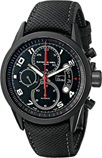 Raymond Weil Men's 7730-BK-05207 Stainless Steel Automatic Watch