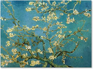 Almond Branches in Bloom 1890 Artwork by Vincent van Gogh, 35 by 47-Inch Canvas Wall Art