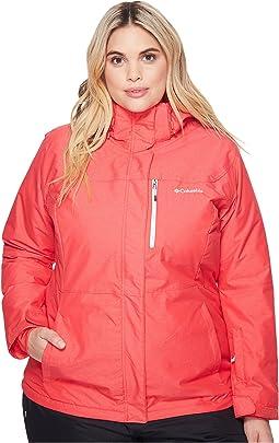 Plus Size Alpine Action™ Omni-Heat™ Jacket