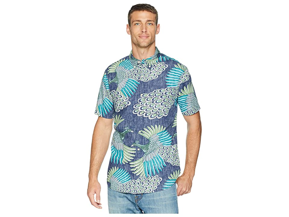 Reyn Spooner Osaka Dream Tailored Fit Aloha Shirt (Ink) Men