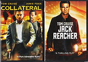 Tom Cruise Unplugged and Unhinged: Jack Reacher & Collateral (DVD Bundle/ 2 Feature Films)