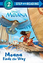 Moana Finds the Way (Disney Moana) (Step into Reading)
