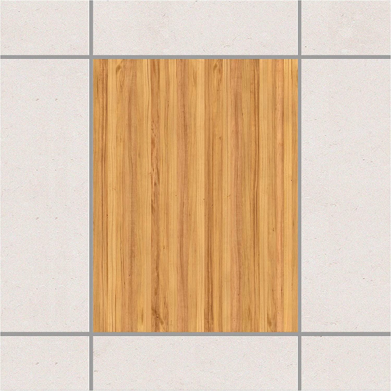 Apalis Fliesenaufkleber Mosaikfliese Holzoptik Weißtanne Setgröße 10teilig B07N8YL7K4