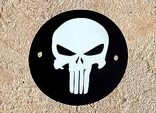 Original Punisher Skull 2 Hole Points / Timing Cover Fits Harley Davidson
