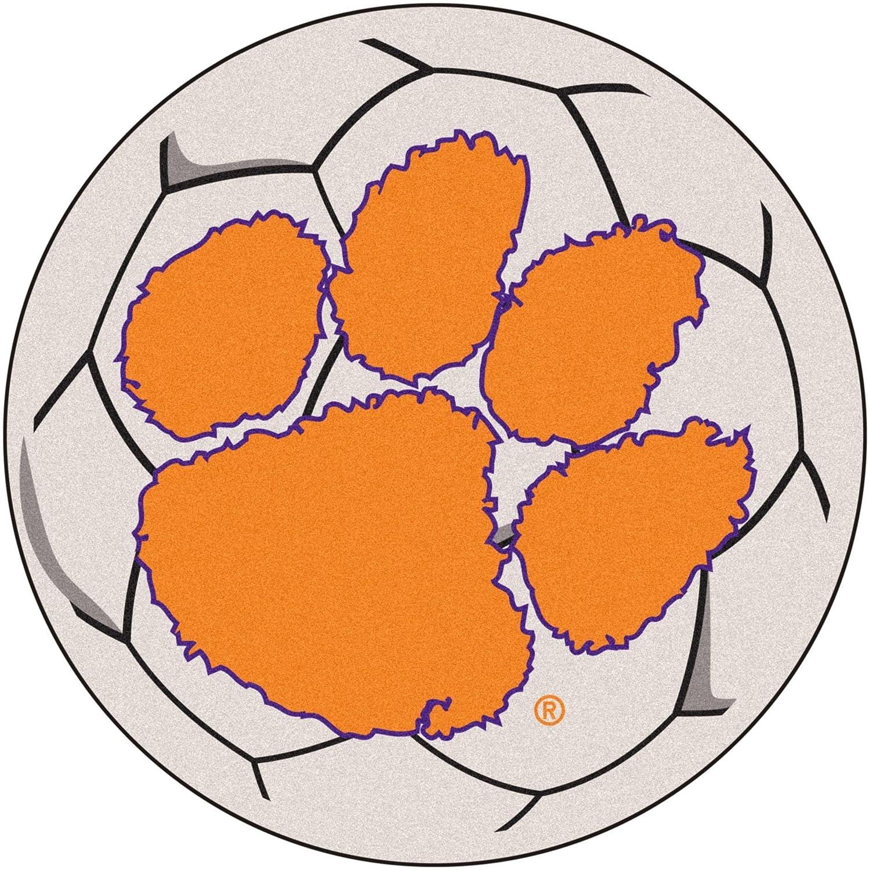 Clemson Tigers Soccer Ball Mat