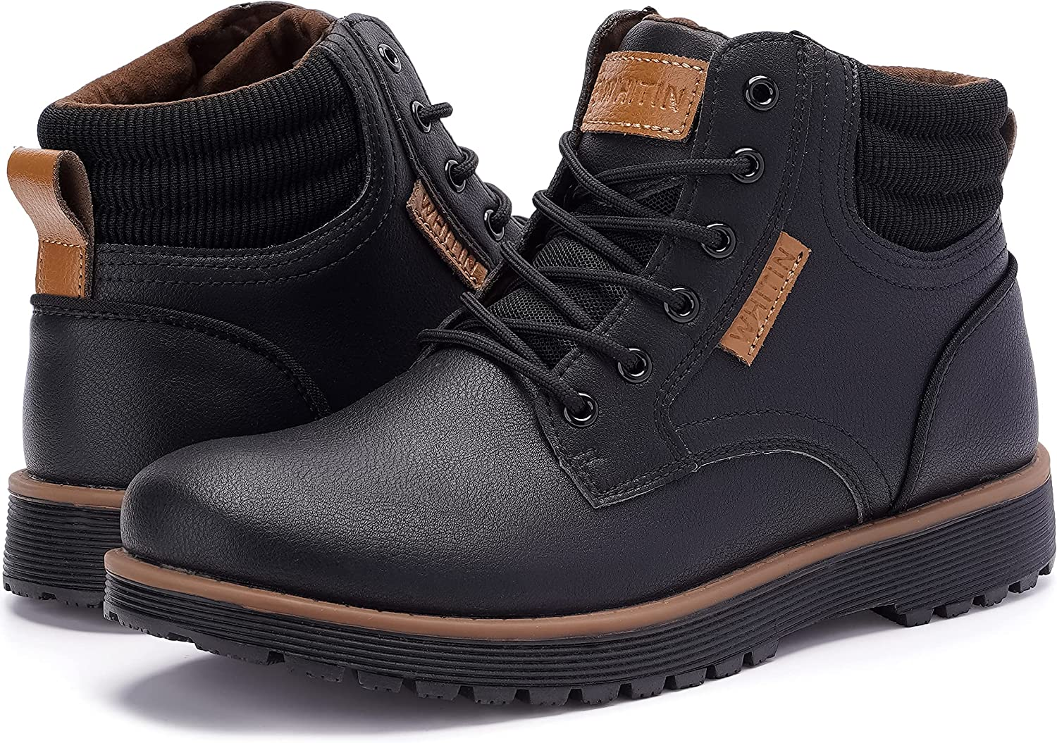 WHITIN Men's Waterproof Max 84% OFF Boots Cold-Weather Topics on TV