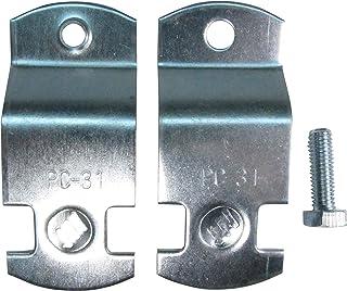 南電機 パイプハンガーサドル PC- 31 電気亜鉛メッキ仕上げ (20個/箱)