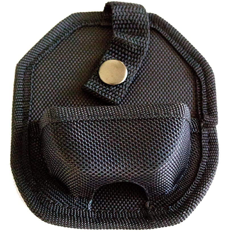 Best Black Handcuff Case With Secure Snap & Belt Loop - Universal Fit & Lightweight For Tactical Use & Police Officers