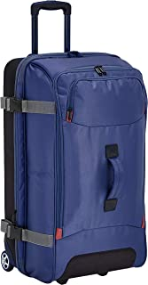 AmazonBasics Wheeled Travel Duffel, Large, Blue